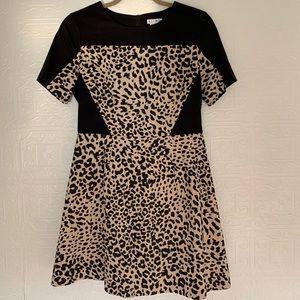 Kling leopard print dress